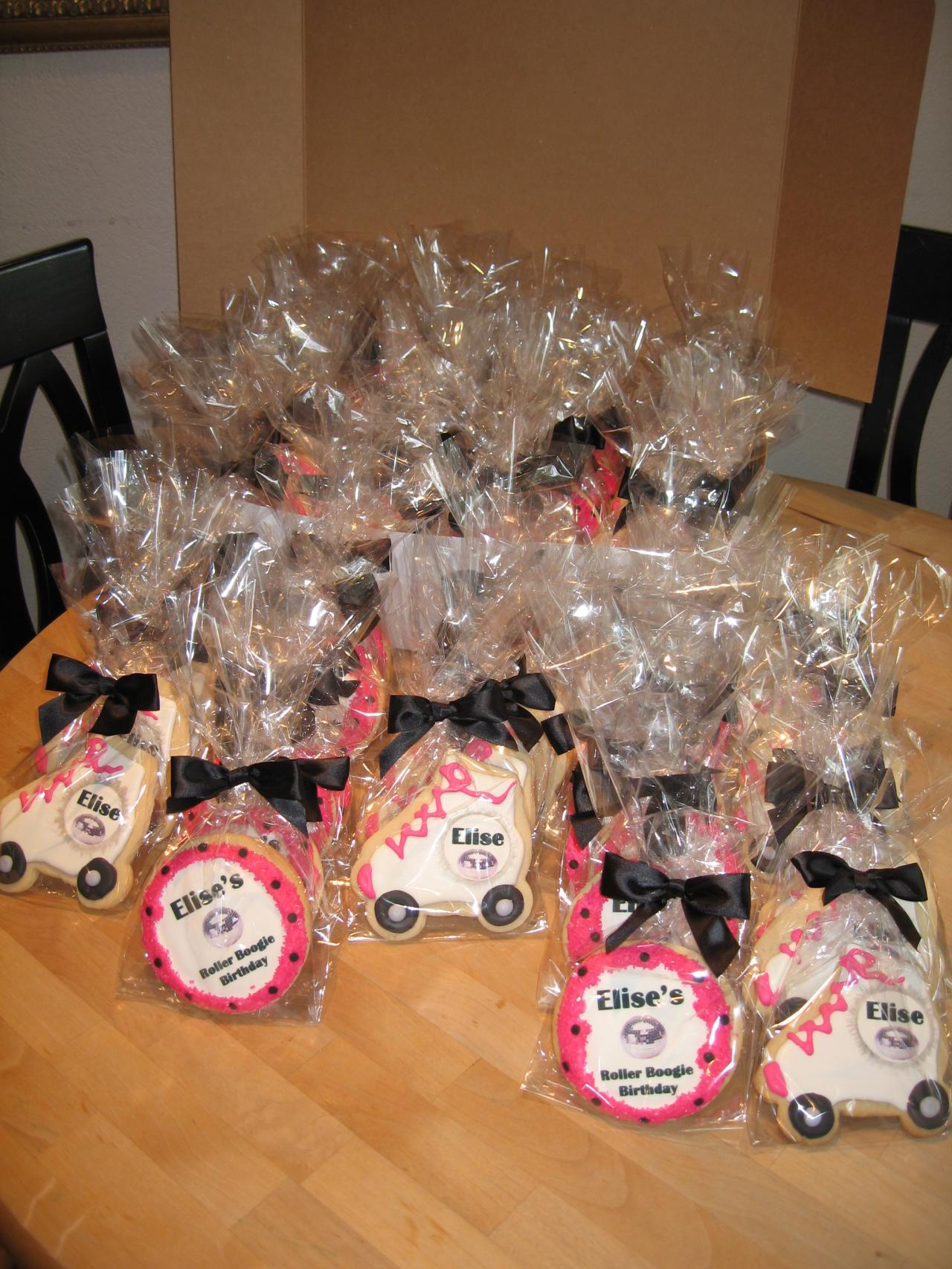 Roller skating party favors - Roller Skate Birthday Party Favors